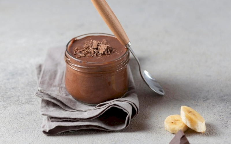 Puding Cokelat Lembut